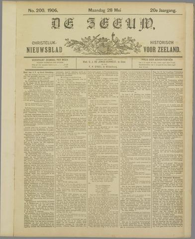 De Zeeuw. Christelijk-historisch nieuwsblad voor Zeeland 1906-05-28