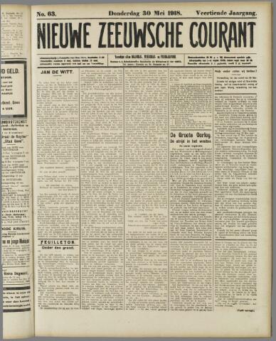 Nieuwe Zeeuwsche Courant 1918-05-30