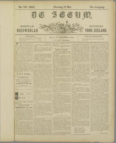 De Zeeuw. Christelijk-historisch nieuwsblad voor Zeeland 1902-05-13