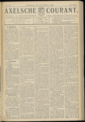 Axelsche Courant 1930-08-26