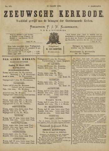 Zeeuwsche kerkbode, weekblad gewijd aan de belangen der gereformeerde kerken/ Zeeuwsch kerkblad 1890-03-29