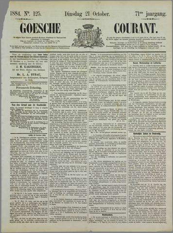 Goessche Courant 1884-10-21