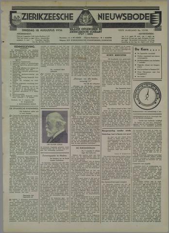 Zierikzeesche Nieuwsbode 1936-08-18