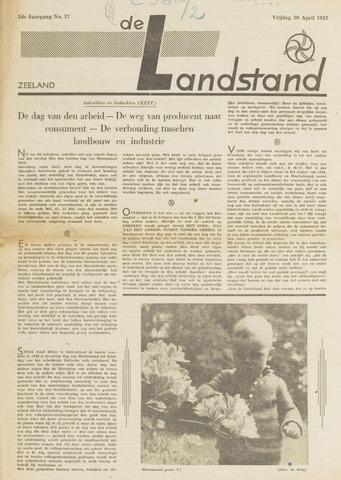 De landstand in Zeeland, geïllustreerd weekblad. 1943-04-30