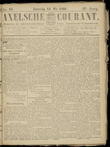 Axelsche Courant 1921-05-14