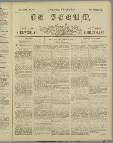 De Zeeuw. Christelijk-historisch nieuwsblad voor Zeeland 1904-09-08
