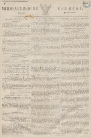 Middelburgsche Courant 1850-09-14