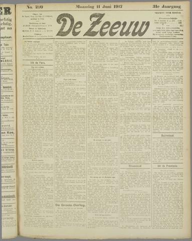 De Zeeuw. Christelijk-historisch nieuwsblad voor Zeeland 1917-06-11