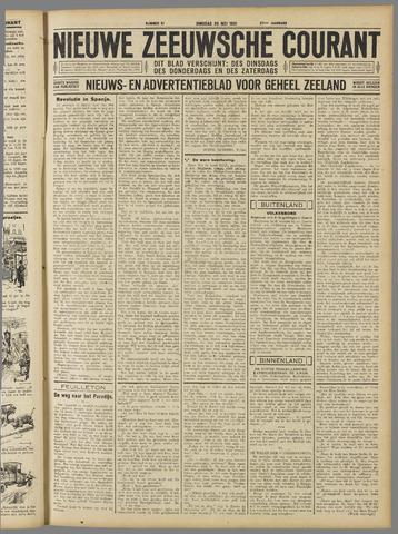 Nieuwe Zeeuwsche Courant 1931-05-26