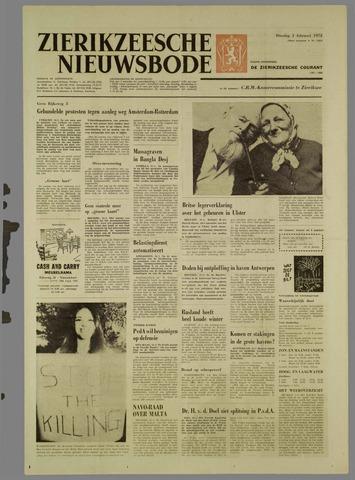 Zierikzeesche Nieuwsbode 1972-02-01