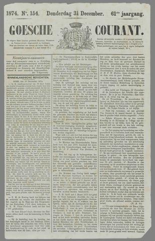 Goessche Courant 1874-12-31