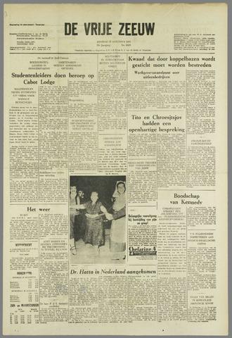de Vrije Zeeuw 1963-08-27