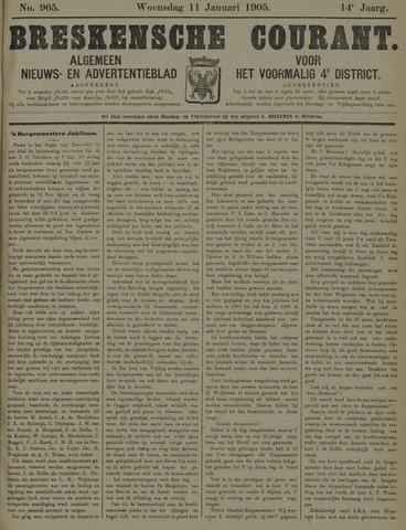 Breskensche Courant 1905-01-11