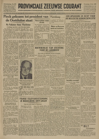 Provinciale Zeeuwse Courant 1949-10-12