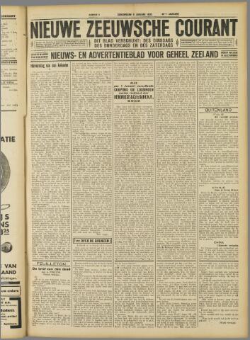 Nieuwe Zeeuwsche Courant 1930-01-09