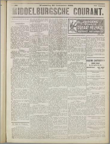 Middelburgsche Courant 1922-12-20