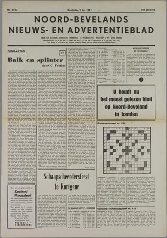 Noord-Bevelands Nieuws- en advertentieblad 1977-06-09