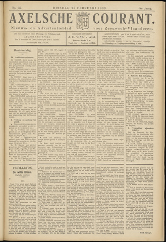 Axelsche Courant 1933-02-28