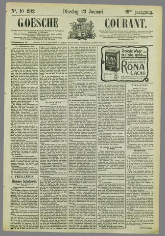 Goessche Courant 1912-01-23