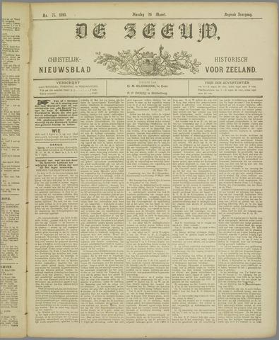 De Zeeuw. Christelijk-historisch nieuwsblad voor Zeeland 1895-03-26