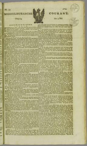 Middelburgsche Courant 1824-05-04