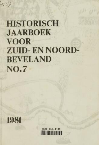 Historisch Jaarboek Zuid- en Noord-Beveland 1981-01-01