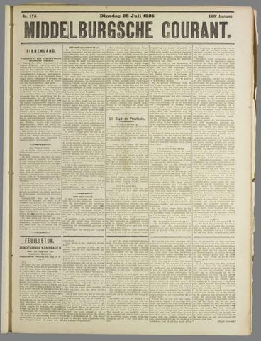 Middelburgsche Courant 1925-07-28
