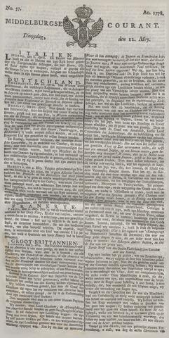 Middelburgsche Courant 1778-05-12