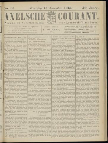 Axelsche Courant 1915-11-13
