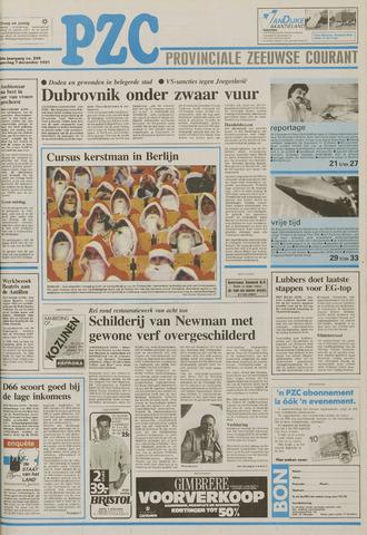Provinciale Zeeuwse Courant 1991-12-07