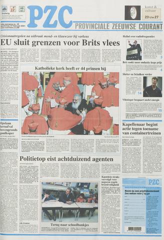 Provinciale Zeeuwse Courant 2001-02-22