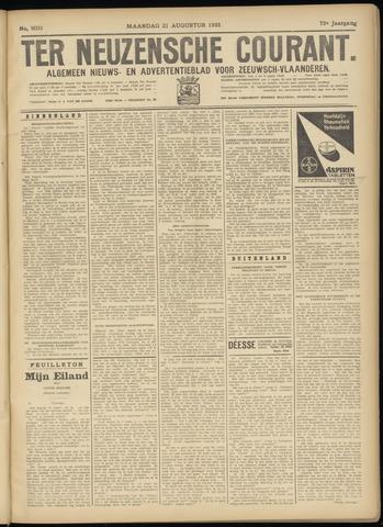 Ter Neuzensche Courant. Algemeen Nieuws- en Advertentieblad voor Zeeuwsch-Vlaanderen / Neuzensche Courant ... (idem) / (Algemeen) nieuws en advertentieblad voor Zeeuwsch-Vlaanderen 1933-08-21