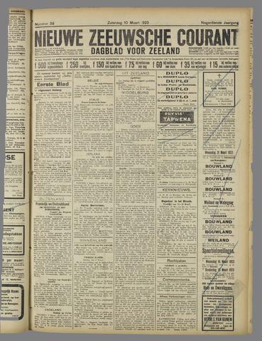 Nieuwe Zeeuwsche Courant 1923-03-10
