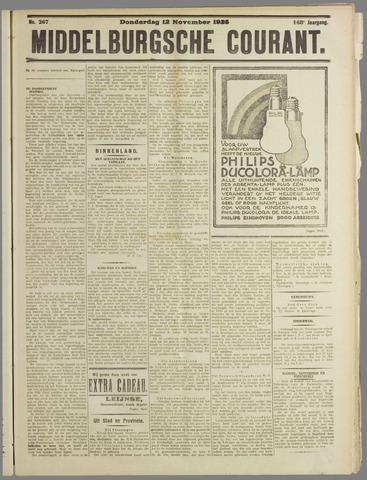 Middelburgsche Courant 1925-11-12