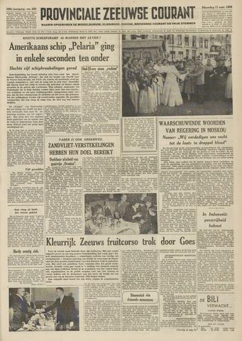 Provinciale Zeeuwse Courant 1956-09-17