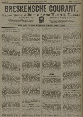 Breskensche Courant 1915