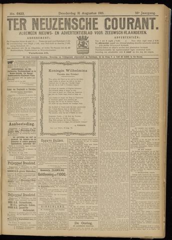 Ter Neuzensche Courant. Algemeen Nieuws- en Advertentieblad voor Zeeuwsch-Vlaanderen / Neuzensche Courant ... (idem) / (Algemeen) nieuws en advertentieblad voor Zeeuwsch-Vlaanderen 1916-08-31