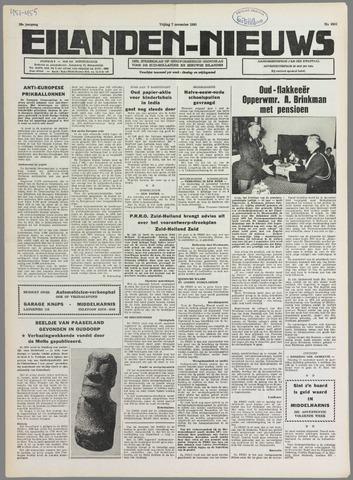 Eilanden-nieuws. Christelijk streekblad op gereformeerde grondslag 1980-11-07