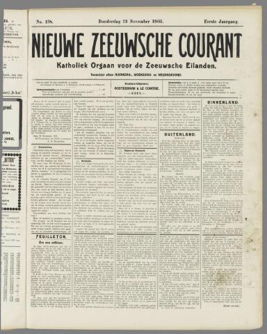 Nieuwe Zeeuwsche Courant 1905-11-23