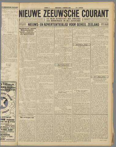 Nieuwe Zeeuwsche Courant 1934-02-01
