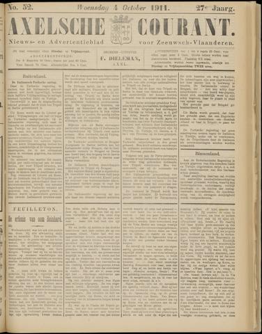 Axelsche Courant 1911-10-04