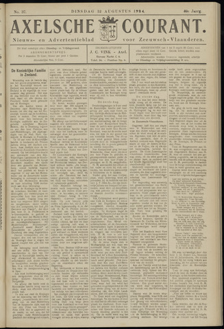 Axelsche Courant 1924-08-12