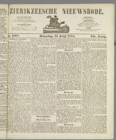 Zierikzeesche Nieuwsbode 1854-07-31
