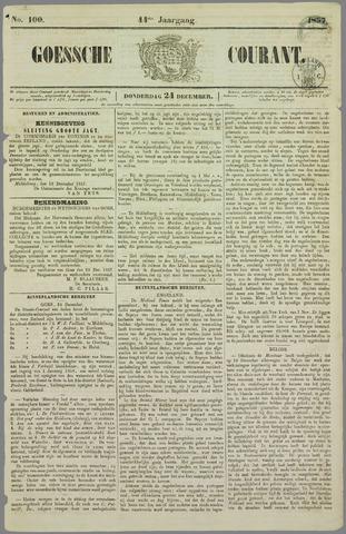 Goessche Courant 1857-12-24