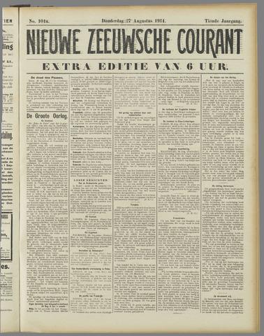 Nieuwe Zeeuwsche Courant 1914-08-27