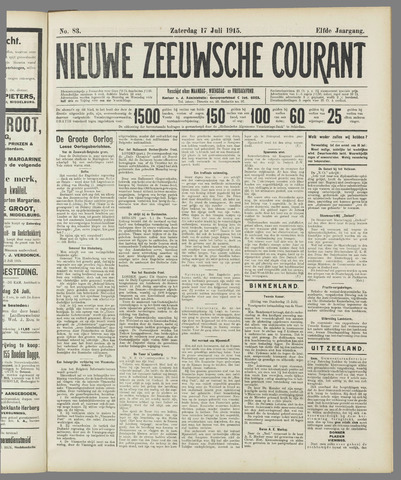 Nieuwe Zeeuwsche Courant 1915-07-17