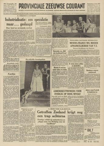 Provinciale Zeeuwse Courant 1953-06-04
