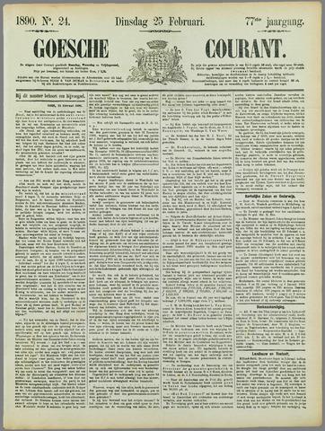 Goessche Courant 1890-02-25