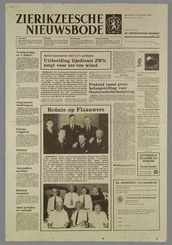Zierikzeesche Nieuwsbode 1985-08-05