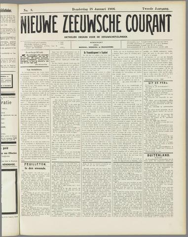 Nieuwe Zeeuwsche Courant 1906-01-18